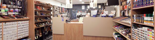 Winkel van E.J. Klok Schoenreparatie & Sleutelservice